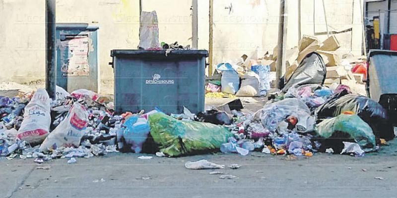Casablanca ville poubelle!