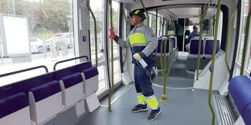 Les Casablancais désertent le tramway