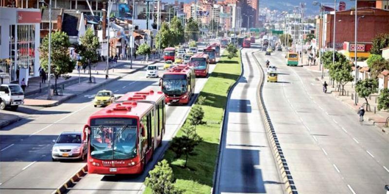 Casablanca: Le trajet du futur Bus Rapid Transit