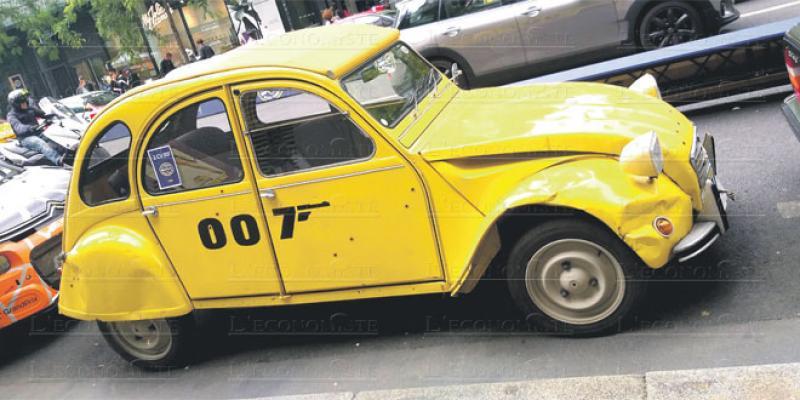 Citroën: Quand les rues parisiennes deviennent un musée à ciel ouvert