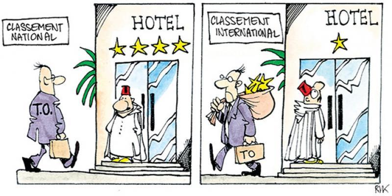Hôtellerie: Un nouveau système de classement en perspective