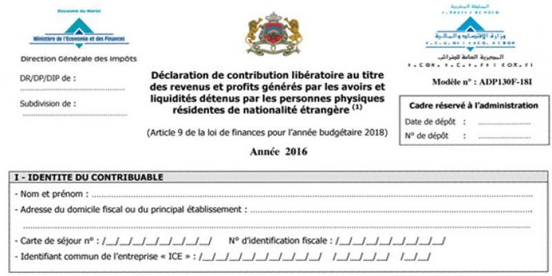 Contribution libératoire: Les revenus déjà taxés exclus de l'assiette fiscale