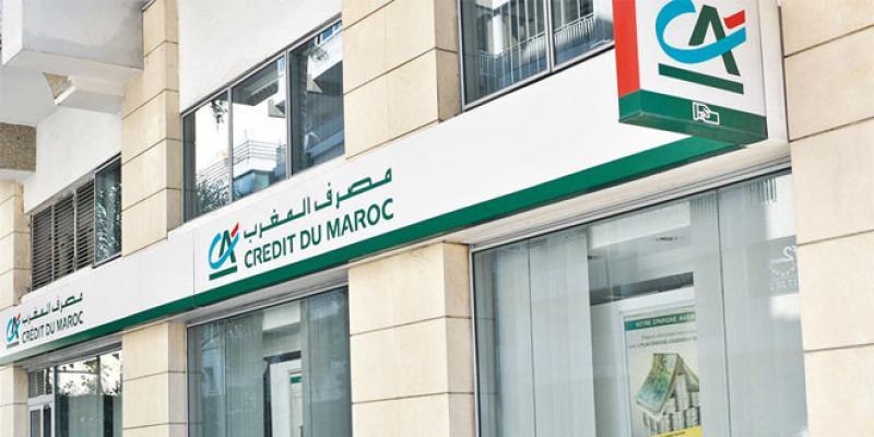 Crédit du Maroc améliore ses bénéfices au 1er trimestre