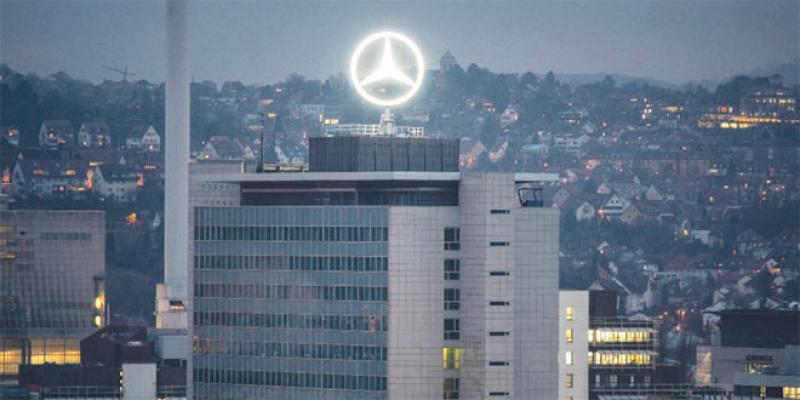Daimler déploie son «offensive électrique» en France