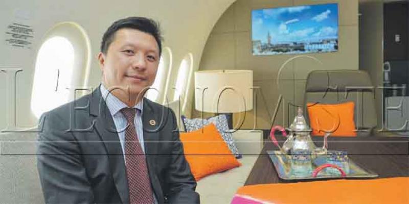 Le chinois Deer Jet fait escale à Marrakech
