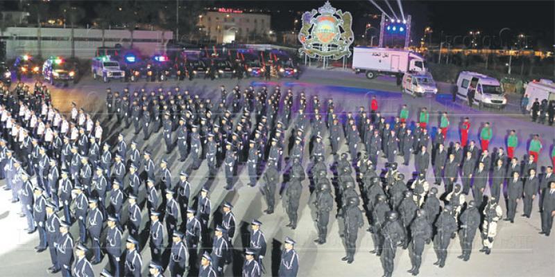 DGSN: La police fait son show