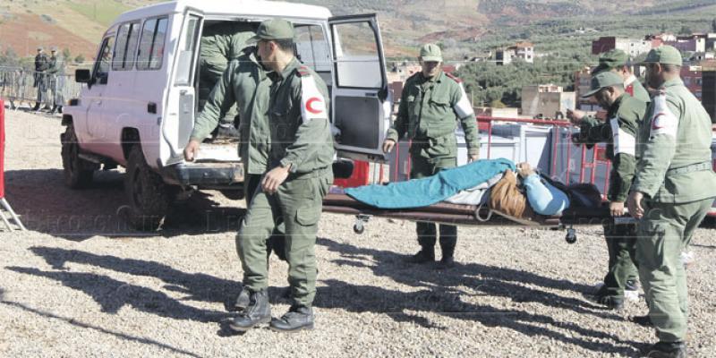 Zones enclavées: Le dispositif médical opérationnel