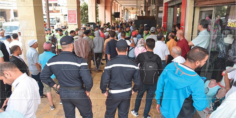 Fès/Occupation du domaine public: Les autorités veulent mettre de l'ordre De notre correspondant permanent, Youness SAAD ALAMI