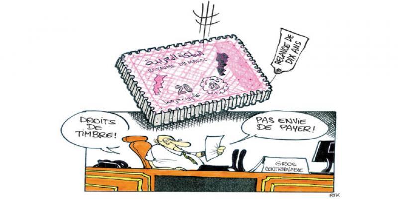 Droits de timbre: Campagne de relance des contrevenants