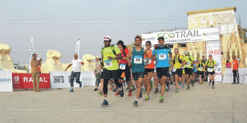 L'Eco Trail de Ouarzazate prend son départ