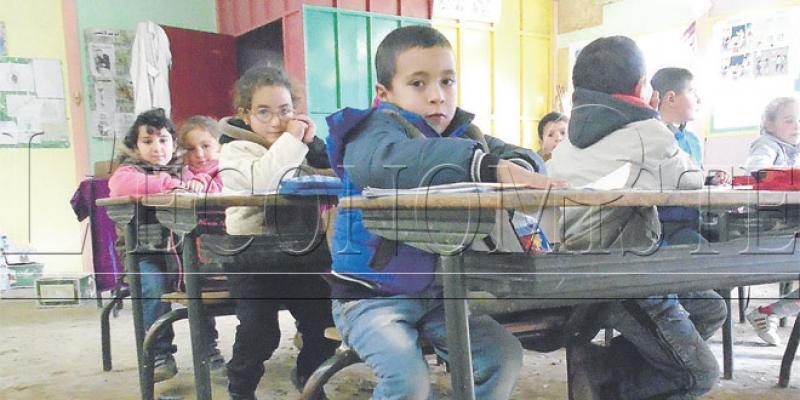Taza/Aknoul Les courageux élèves de l'école El Marj