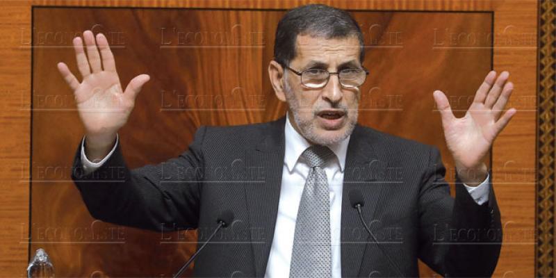 El Othmani au Parlement: La Charte d'investissement pour bientôt