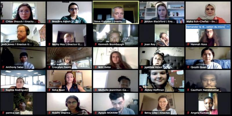 Entrepreneuriat: Enactus mise sur l'échange virtuel mondial