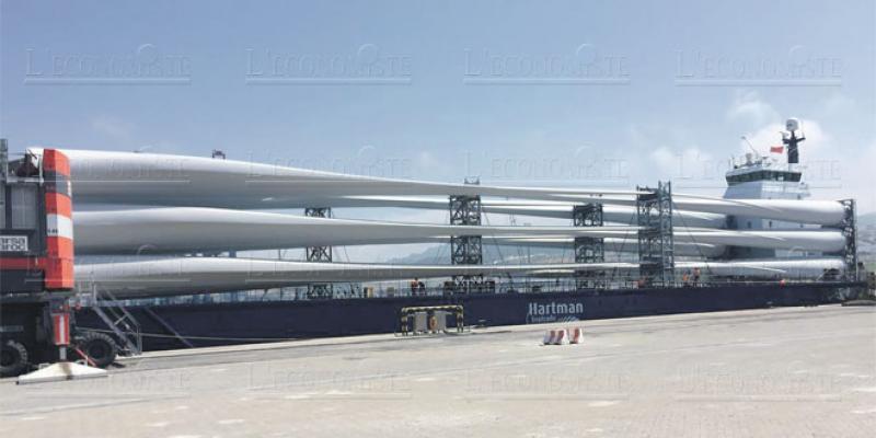 Eolien: Une 100e pale pour l'usine de Siemens