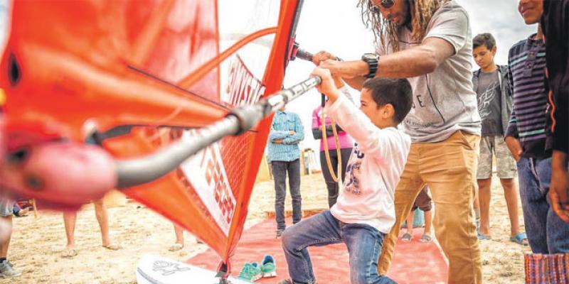 Essaouira: Les champions de windsurf s'affrontent en coupe du monde