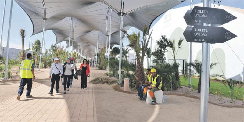 Marrakech aura son palais des expositions