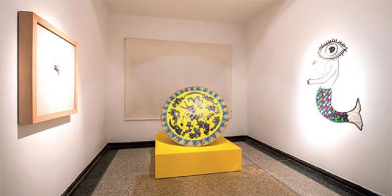 Exposition au Comptoir des mines à Marrakech: Huit artistes, un même combat