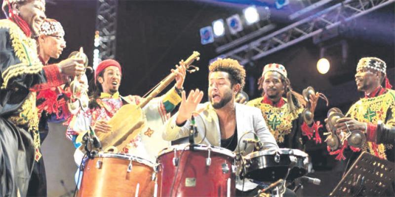 «Choc des Titans» entre artistes au festival Gnaoua
