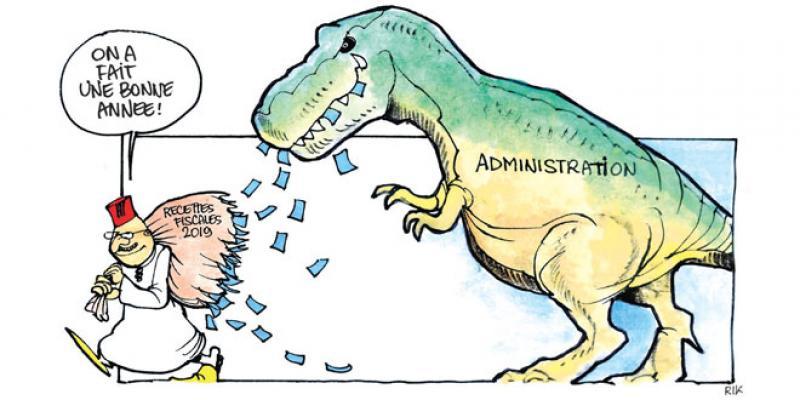 Une administration toujours budgétivore