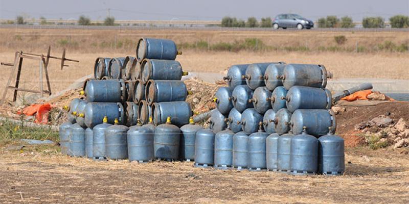 Compensation: Le gaz butane décroche de 7% au premier semestre