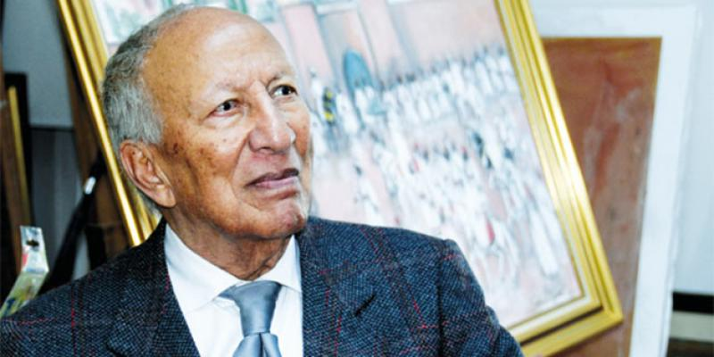 L'artiste peintre Hassan El Glaoui tire sa révérence