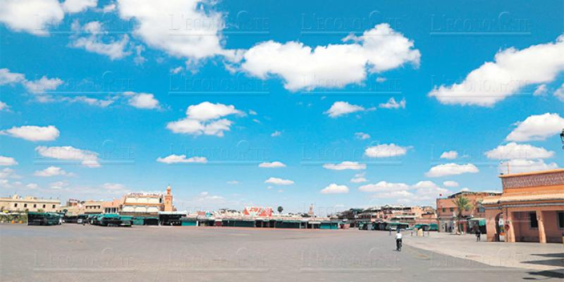 Tourisme Jamâa El Fna toujours aussi silencieuse