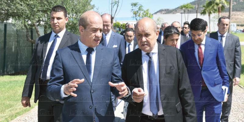 Partenariat économique Maroc-France: Le Drian promet un discours mobilisateur