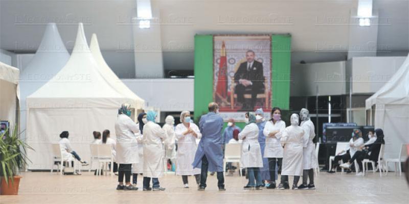 Casablanca: L'hôpital de la foire reçoit ses premiers patients