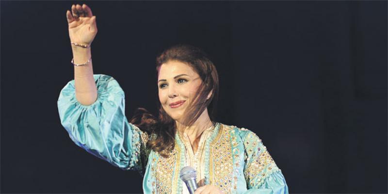 Musiques sacrées: Magida El Roumi enchante à la clôture