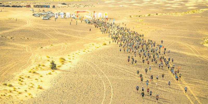 Marathon des Sables: Sueur, effort, courage et solidarité dans le désert