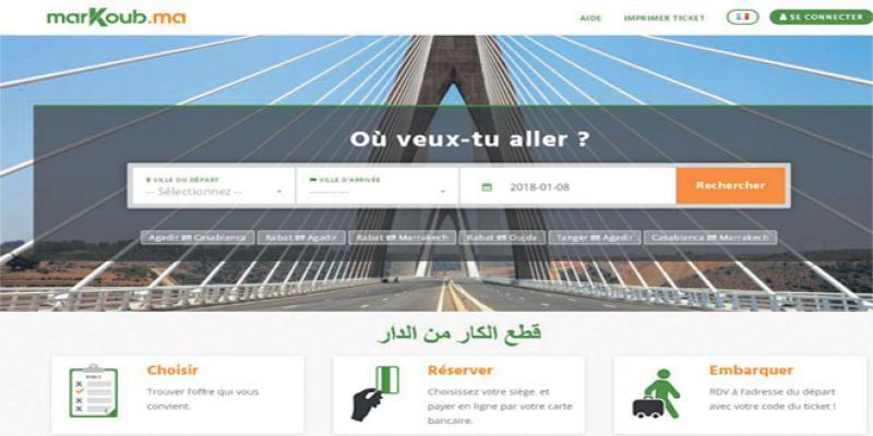 MarKoub: Une plateforme qui facilite les voyages en autocar