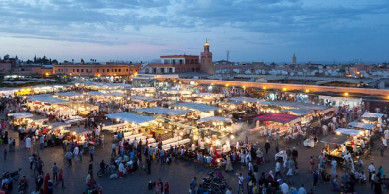 Marrakech, laboratoire de clusters