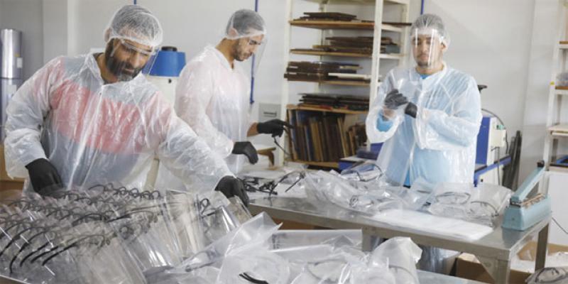 Masques de protection: Une entreprise convertit ses unités de production