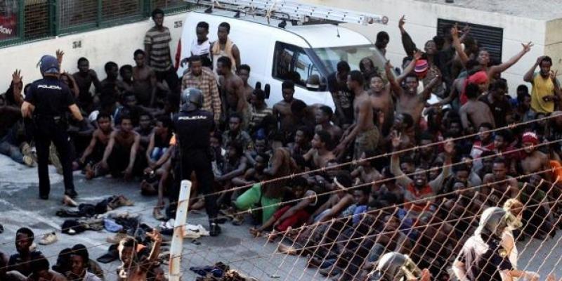 Nouvel assaut des migrants à Melilia