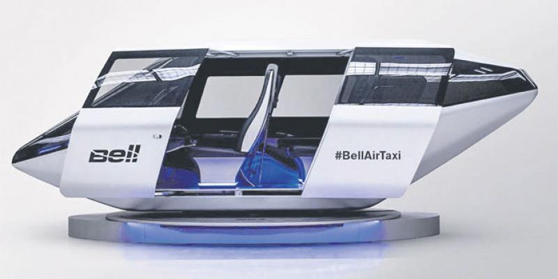 Mobilité urbaine: Grosse bataille sur le marché des taxis volants