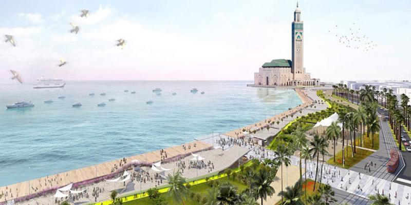 Casablanca/Mosquée Hassan II La promenade bientôt livrée