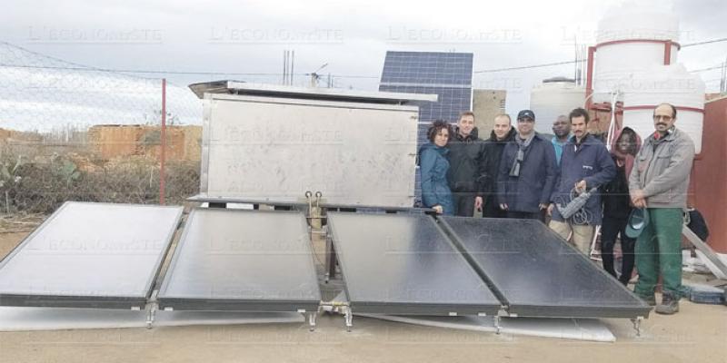 Oriental: Lancement d'une station de désalinisation solaire