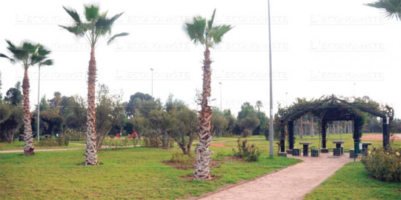 Marrakech s'offre 4 parcs sportifs et de loisirs