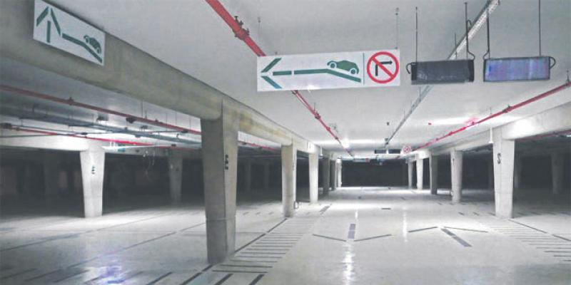 Casablanca: Le parking Rachidi fin prêt