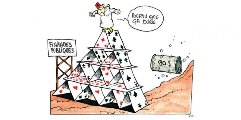 Pétrole: Menace sur les réserves de changes