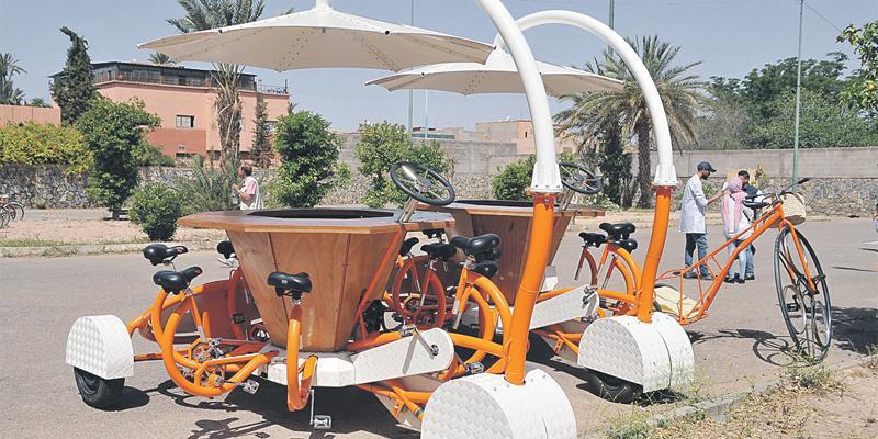 Marrakech: Pikala lance le «Jardin des vélos»