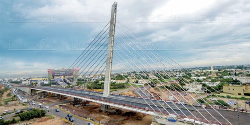 Derniers réglages pour le pont à haubans de Casablanca