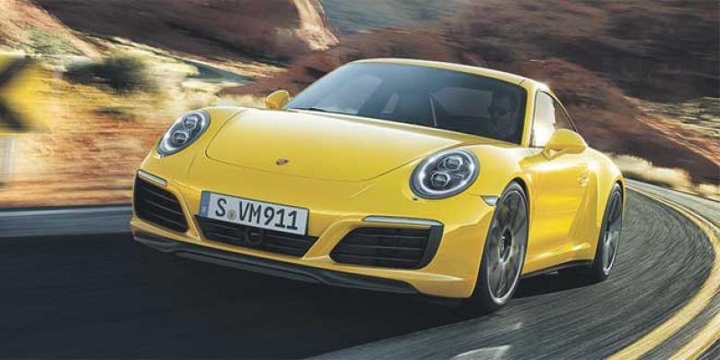 Balade nocturne en Porsche