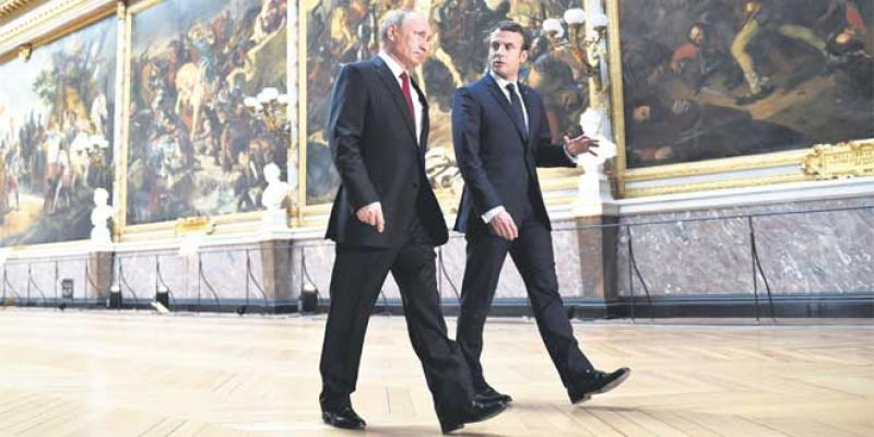 Ce que Poutine et Macron se sont dit