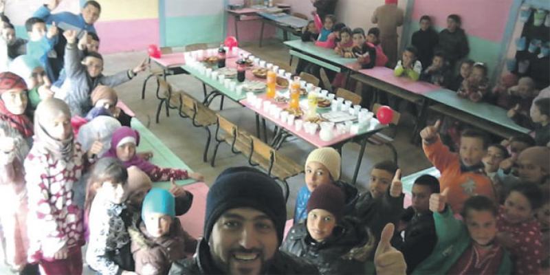 Reportage/Prof rural: «Depuis les montagnes du Rif, je changerai le monde»