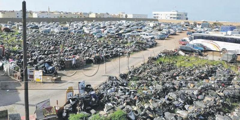 Rabat désencombre sa fourrière