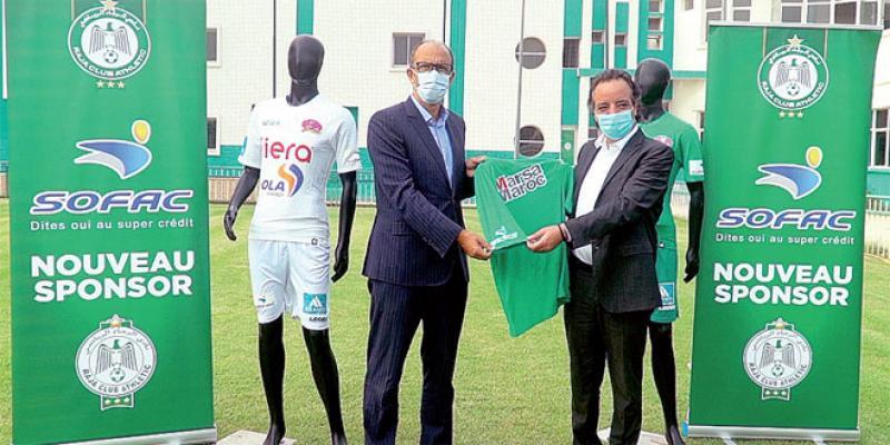 Football: Sofac rejoint la liste des sponsors du Raja