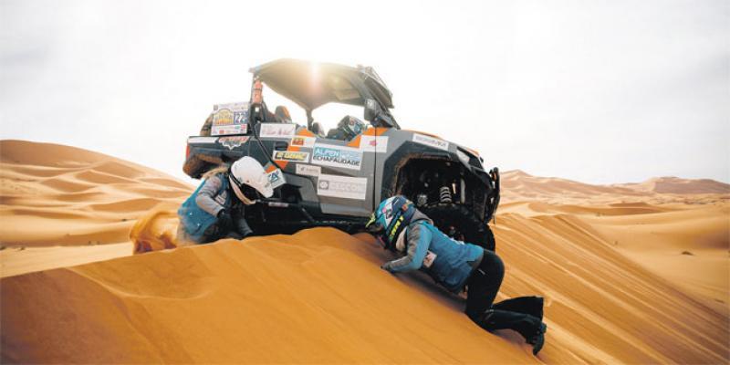 Rallye: Aïcha des Gazelles innove pour ses 30 ans