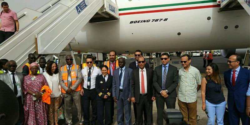 RAM célèbre 59 ans de présence à Dakar