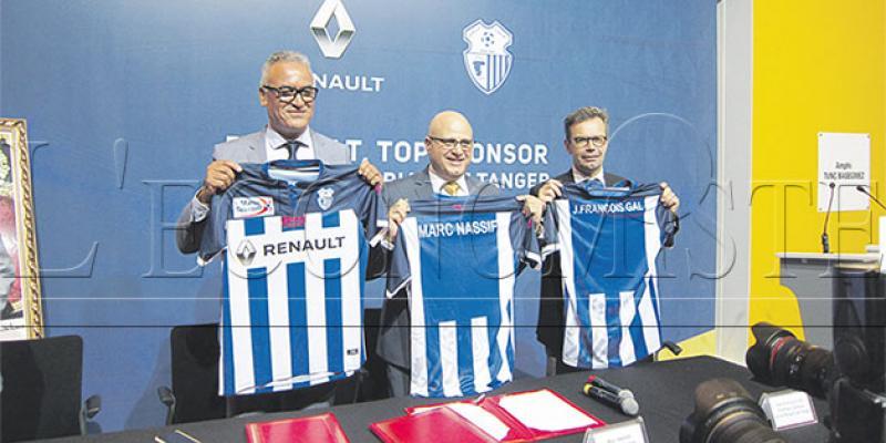 Football: Renault Maroc au chevet du club de Tanger